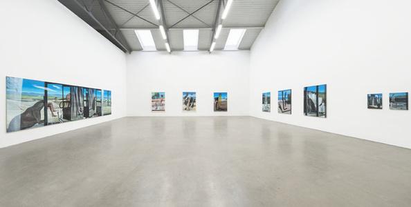 Marc Desgrandchamps: Spuren (Traces)