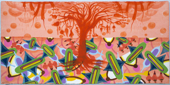 Imagenes del Paraiso IV (orange w tree)