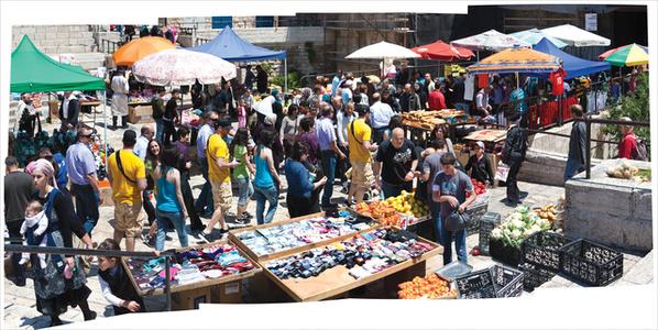 Market Day, Outside Damascus Gate, Jerusalem