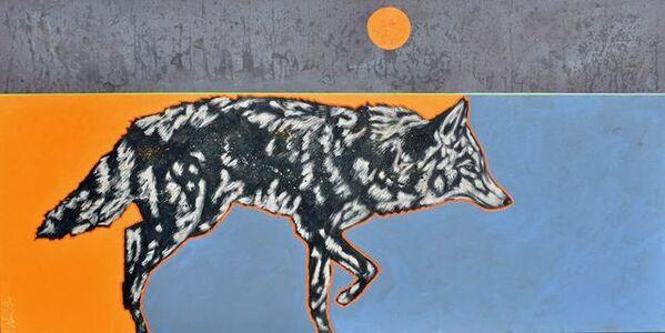 """Rare Moon Coyote"""