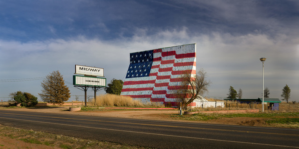 Midway Drive-In; Quitque, Texas