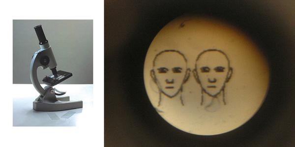 Microscope - Two Portraits