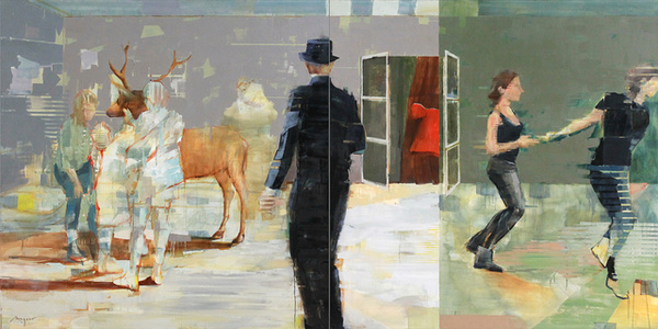 New Year's Eve (diptych)