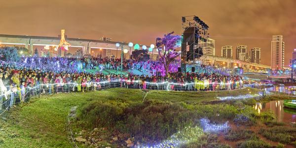 Crowd, Tao yuan, 2016 Lantern festival