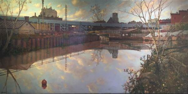 Gowanus Canal Reflection