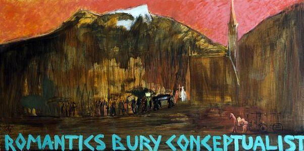 Romantics Bury Conceptualists