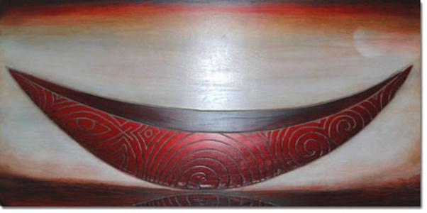 Scarlet Eye Canoe