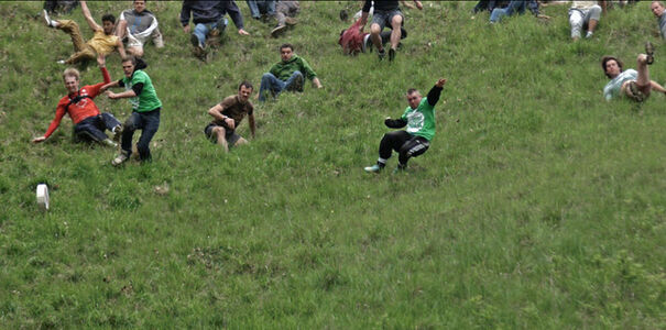 Untitled (Cheese Rolling)