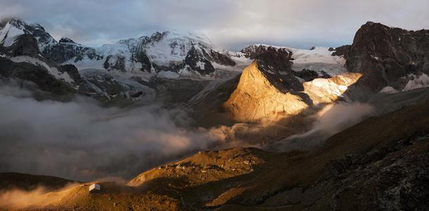 Zmutt Gletscher Switzerland