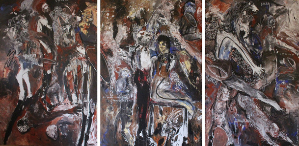 Untitled - Triptych