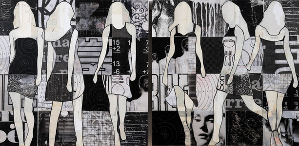 Black & White (diptych)