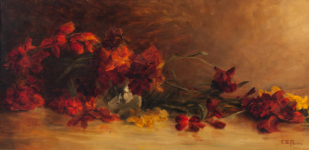 Untitled (Red Flowers)