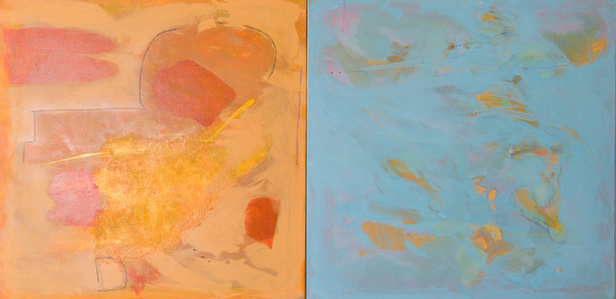 Opposite Attract (Diptych)