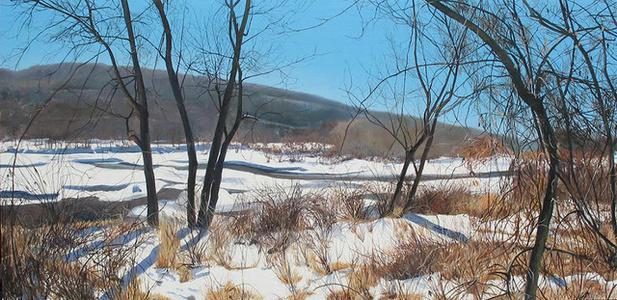 Winter, Delaware Water Gap