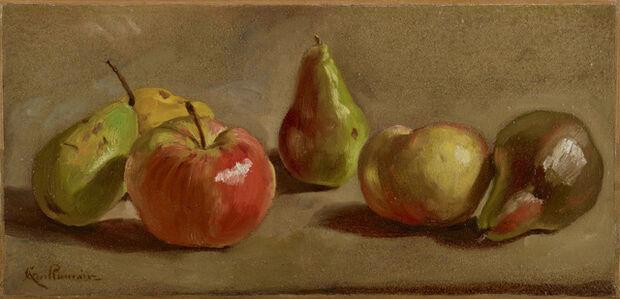 Nature morte aux pommes et poivres
