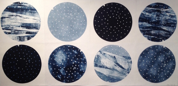 Many Moons (diptych)
