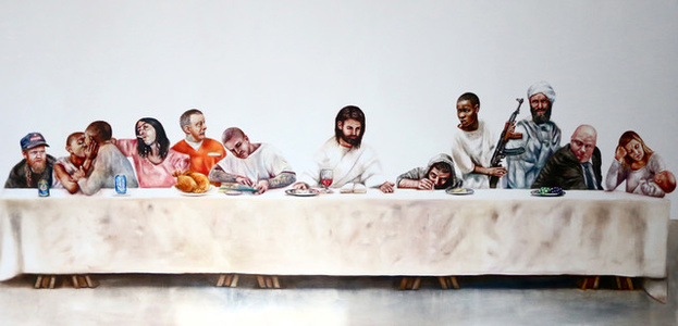 Last Supper Giclee print