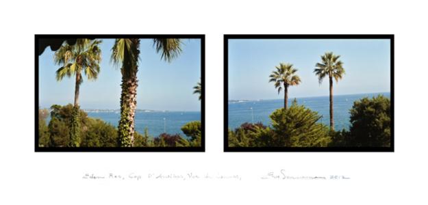 Eden Roc, Cap d'Antibes, Vue de Cannes