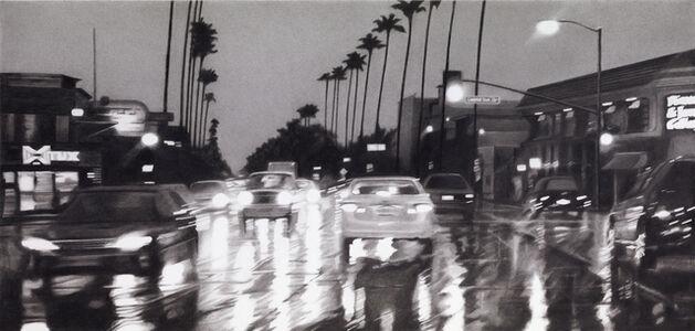 Ventura Boulevard at Laurel Terrace, 6PM