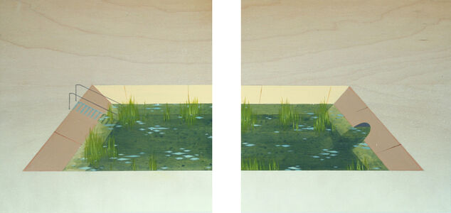 Pond (diptych)