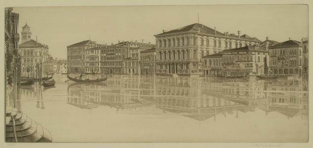 Venetian Mirror, Grand Canal, Venice