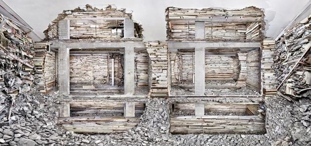 Destroyed House Piet Mondriaanstraat 1