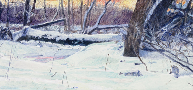 Frozen Creek Cedaburg (study)