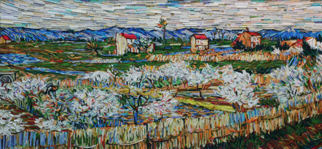 Monument- Peach Trees in Blossom