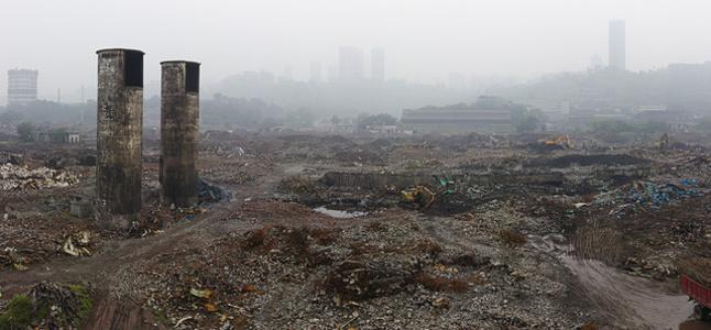 Chongqing Steel Factory Ruins