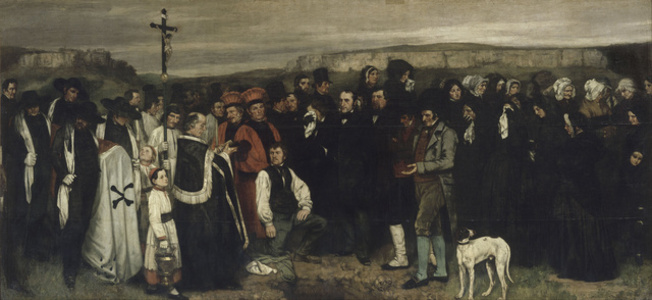 The Burial At Ornans
