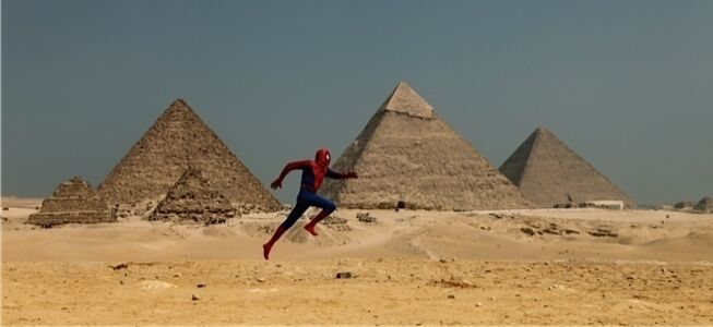 Pyramid/Spiderman Project