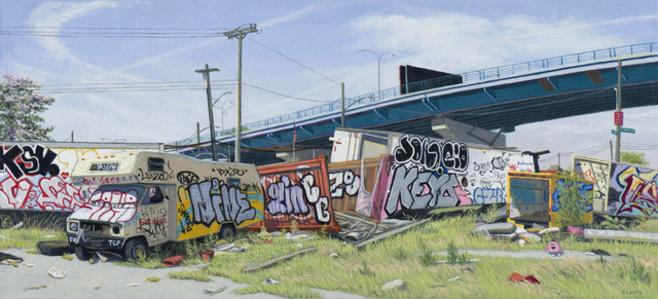 Bronx Scrap Yard (study)