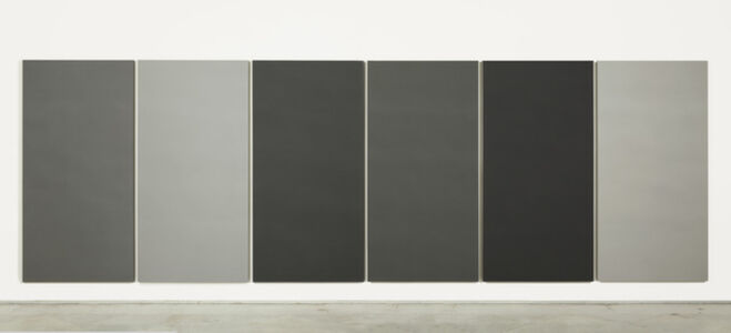 Painting in 6 different greys