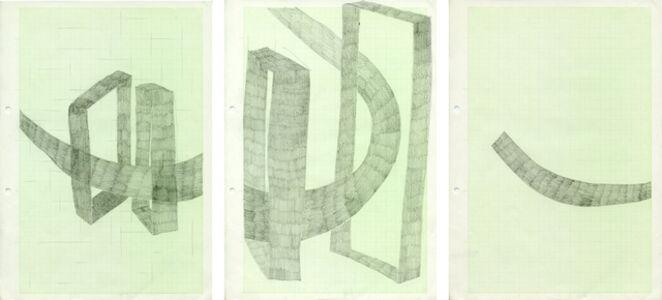 Ohne Titel (set of 3 drawings)