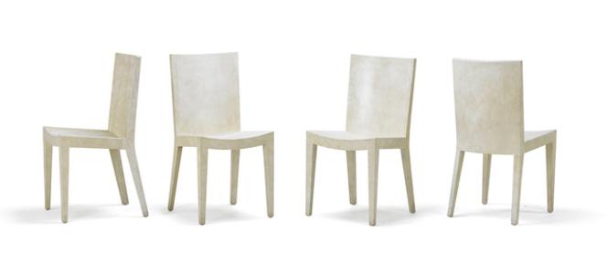 Four JMF chairs