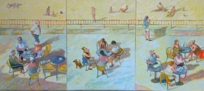 A pier (Triptych)
