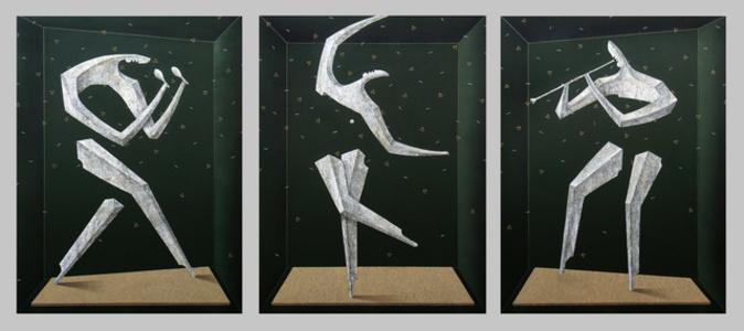 3M01 triptych