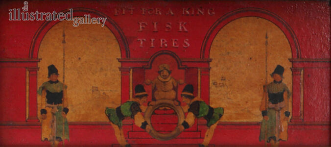 Sketch for Fisk Tires - Fit for a King