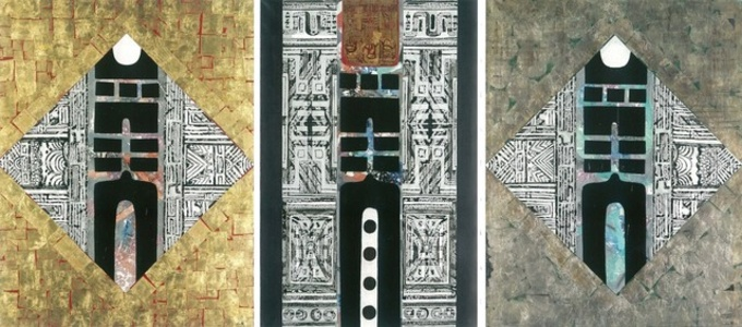 Gate of Wisdom (Triptych)