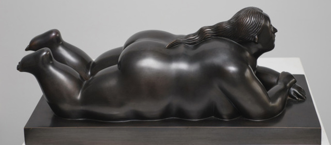 Donna Sdraiata Sul Pancia (Woman Lying On Her Stomach)
