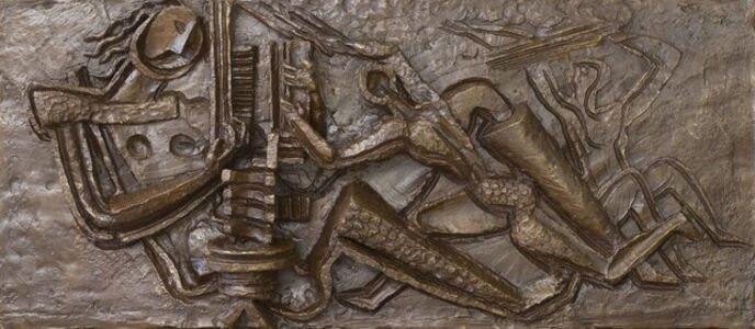 Maquette du relief pour l'usine Tomado à Etten-Leur