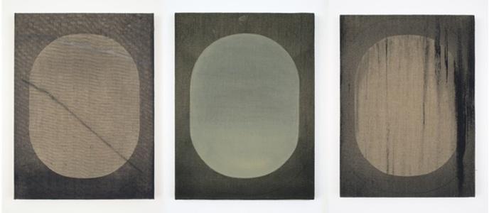 Window Triptych, 16 x 12' each