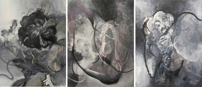 Unione y Benevolanza (triptych)