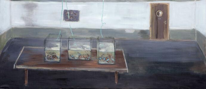 Zes Kreeften op Tafel (Six Lobster on a Table)
