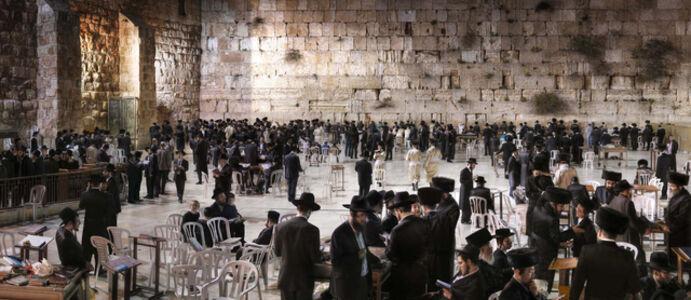 Wailing Wall - Jerusalem, Israel
