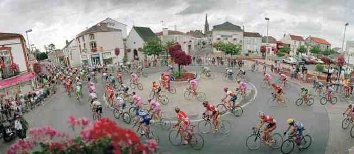 France, Saint Macaire, Tour de France.