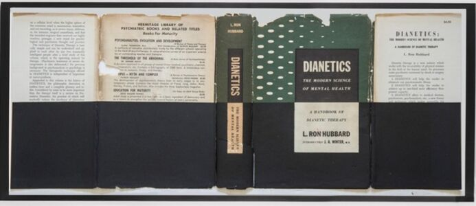 "ST. Portada ""Dianetics.The modern Science of Mental Health"". Hubbard"