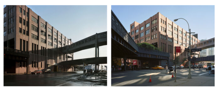 Tenth Avenue and West 16th Street 1985 + 2013