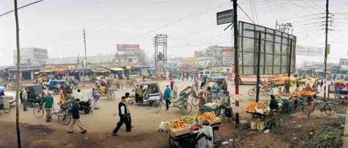 India, Uttar Pradesh, Transit Road.
