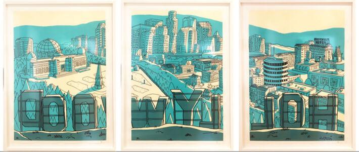 Hollywood Triptych (framed)